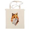 """Сумка """"Poly Fox"""" - fox, лиса, полигоны"""