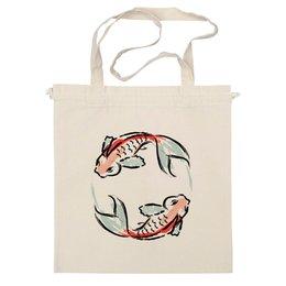 """Сумка """"Знак Зодиака Рыбы"""" - животные, рыба, знак зодиака, рисунок, дизайн"""