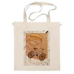 "Сумка ""Bycicle&baloons"" - арт, воздушные шары, велосипед, bike, ballon"