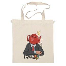 """Сумка """" Мыслю креативно!"""" - креативные, дизайнерские, офисные, директору, босу"""