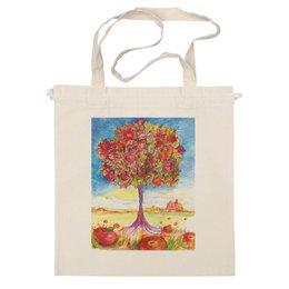 """Сумка """"Яблоки"""" - авторские майки, цветы, деревья, красота, сад, оригинально, дерево, яблоки"""