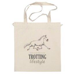 """Сумка """"TROTTING LIFESTYLE"""" - лошадь, horse, рысак"""