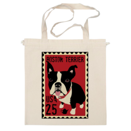 "Сумка ""Boston Terrier"" - dog, терьер, boston terrier, бостон терьер"