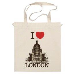 "Сумка ""Я люблю Лондон"" - лондон, англия, i love london, британия, я люблю"