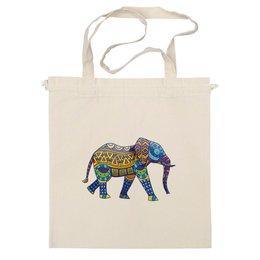 """Сумка """"Индийский Слон"""" - животные, слон, индия, буддизм, индуизм"""
