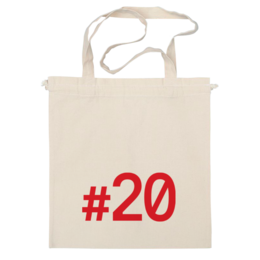 """Сумка """"#20 по центру"""" - навальный четверг, двадцать"""