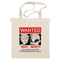 "Сумка ""Рик и Морти"" - мультфильмы, wanted, rick and morty, рик и морти"