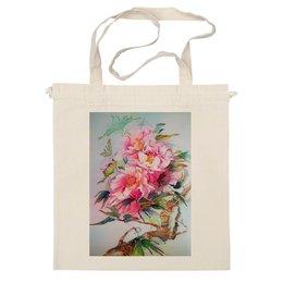 "Сумка ""Китайский пион."" - цветы, flowers, пионы, peony, китайский пион"