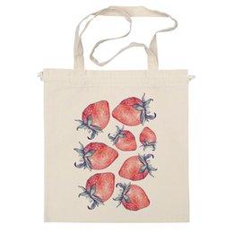 "Сумка ""Strawberry_field"" - в подарок, ягоды, клубника, клубничка, berries"