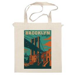 """Сумка """"Brooklyn"""" - new york, нью-йорк, сша, brooklyn, бруклин"""