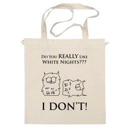 "Сумка ""White Nights"" - питер, оригинально, совы, креативно, saint petersburg, owls, белые ночи, white nights"