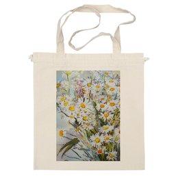 """Сумка """"Букет ромашек"""" - арт, лето, цветы, в подарок, природа, искусство, ромашки, летнее, полевые цветы, цветочный букет"""