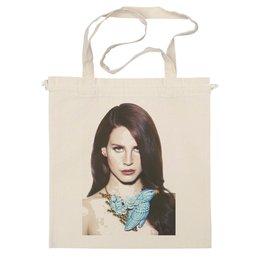 """Сумка """"Lana Del Rey #1"""" - авторские майки, женская, оригинально, выделись из толпы, lana del rey"""