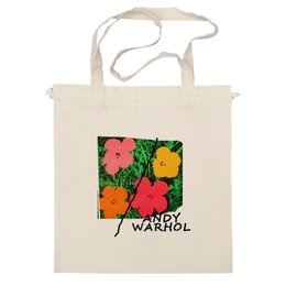 "Сумка ""На лугу"" - цветы, энди уорхол, поп-арт, warhol"