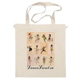 """Сумка """"DanceSecret 8"""" - танец, балет"""