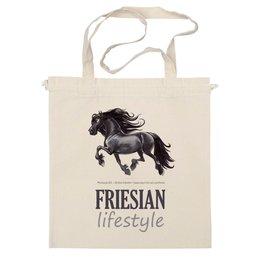 "Сумка ""FRIESIAN LIFESTYLE"" - лошадь, horse, фриз"