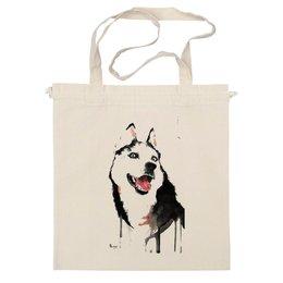 "Сумка ""хаски"" - искуство, хаски, собаки, husky, оригенально"