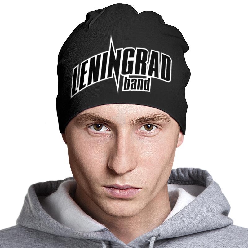 Шапка классическая унисекс Printio Leningrad шапка классическая унисекс printio генератор радуги