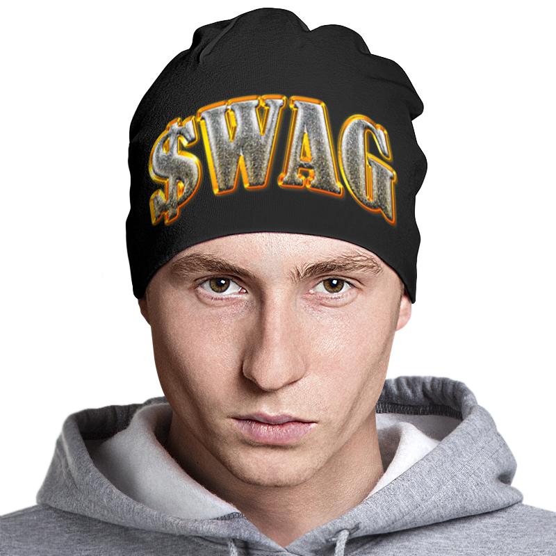 Шапка классическая унисекс Printio Swag art шапка классическая унисекс printio fergie