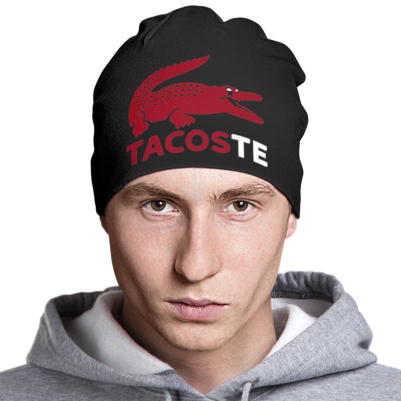 Шапка классическая унисекс Printio Tacoste шапка классическая унисекс printio tacoste