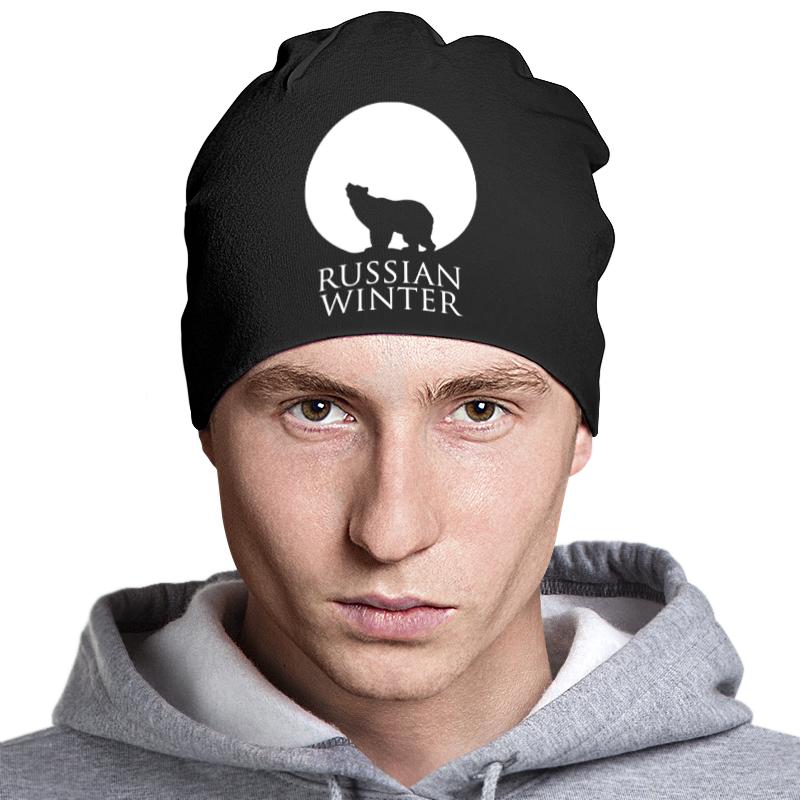Шапка классическая унисекс Printio Russian winter