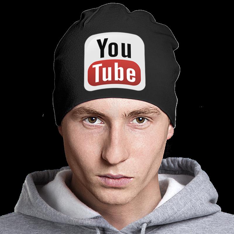 Шапка классическая унисекс Printio Youtube youtube в полиции 2017 11 12t19 00