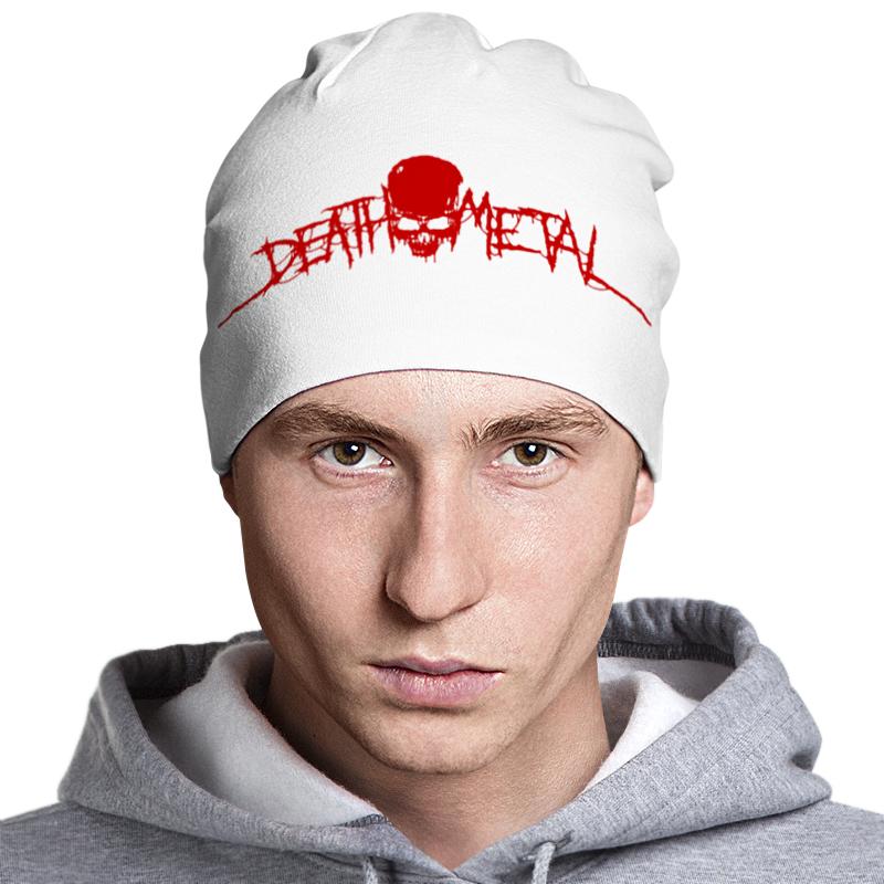Шапка классическая унисекс Printio Death metal мамуляндия шапка для детей мамуляндия