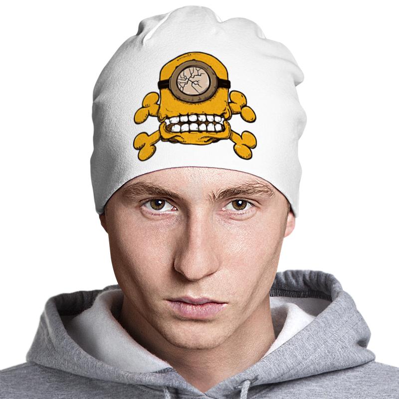 Шапка классическая унисекс Printio Skull minion майка классическая printio skull minion