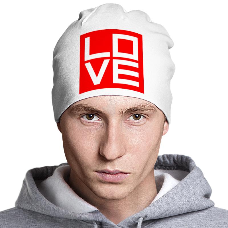 Шапка классическая унисекс Printio Love (любовь) шапка классическая унисекс printio fergie