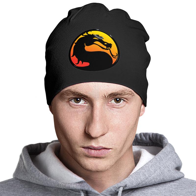 Шапка классическая унисекс Printio Mortal kombat шапка timberland шапки двойные