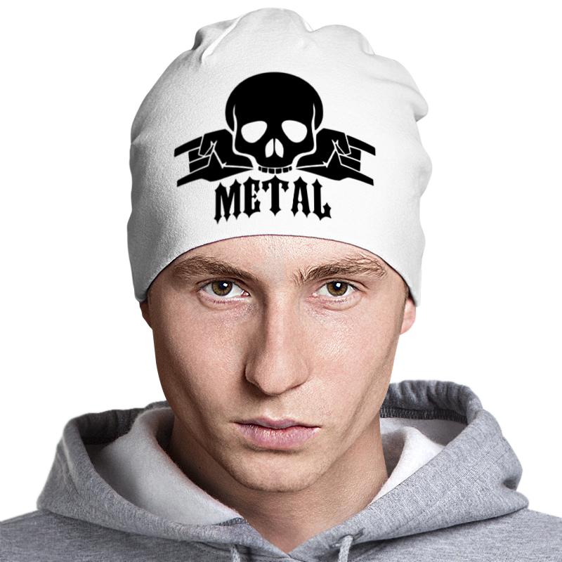 Шапка классическая унисекс Printio Metal шапка классическая унисекс printio isymfs
