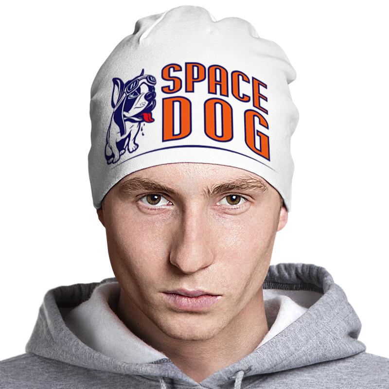 Шапка классическая унисекс Printio Space dog dog print top