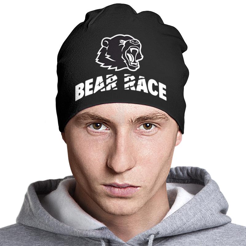 Printio Bear race russia 2018 шапка классическая унисекс printio zander hat
