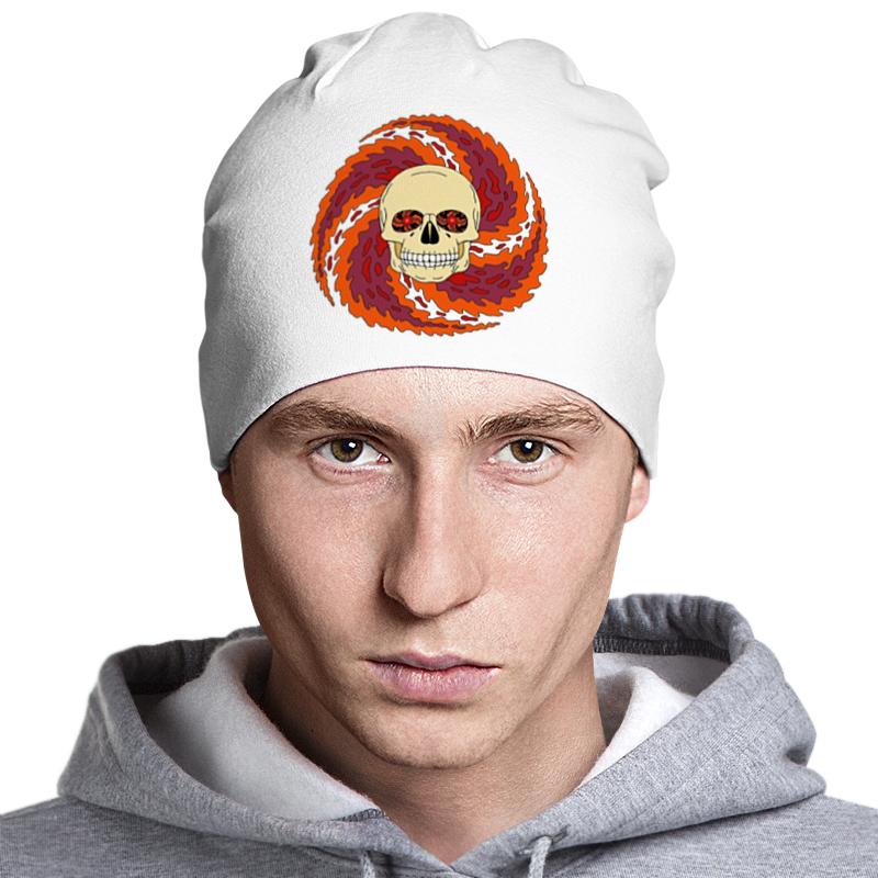 Шапка классическая унисекс Printio Skull art шапка классическая унисекс printio мото 2017
