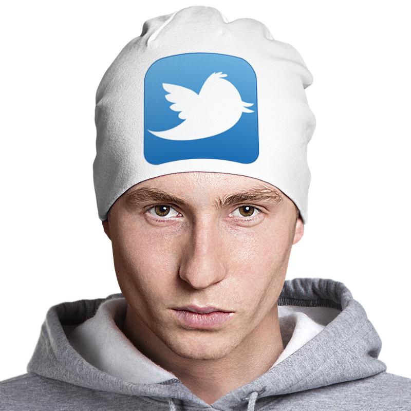 Шапка классическая унисекс Printio Twitter laura fitton twitter for dummies