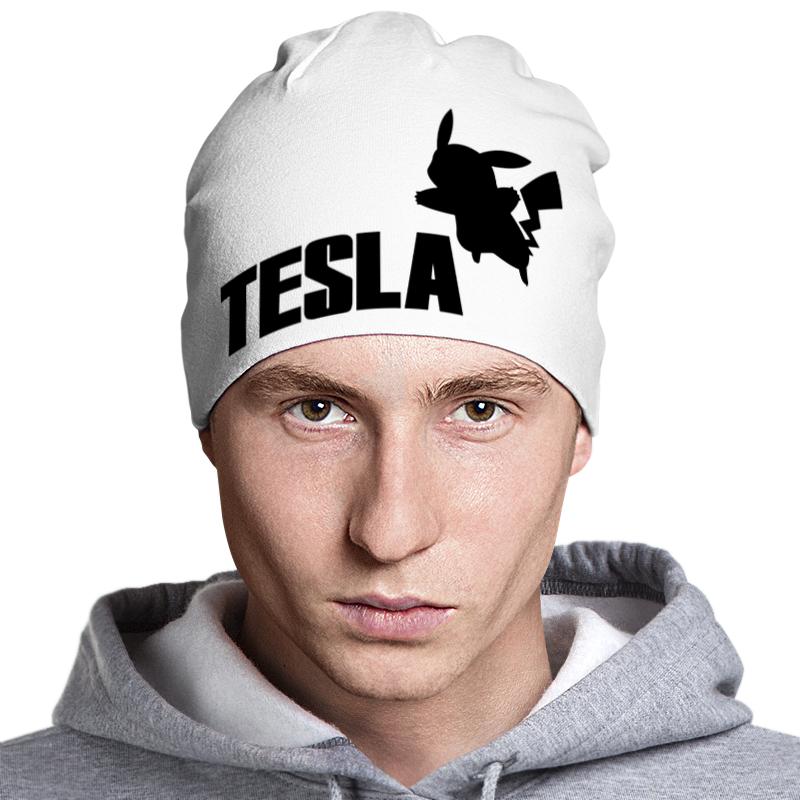 Шапка классическая унисекс Printio Tesla шапка классическая унисекс printio мото 2017