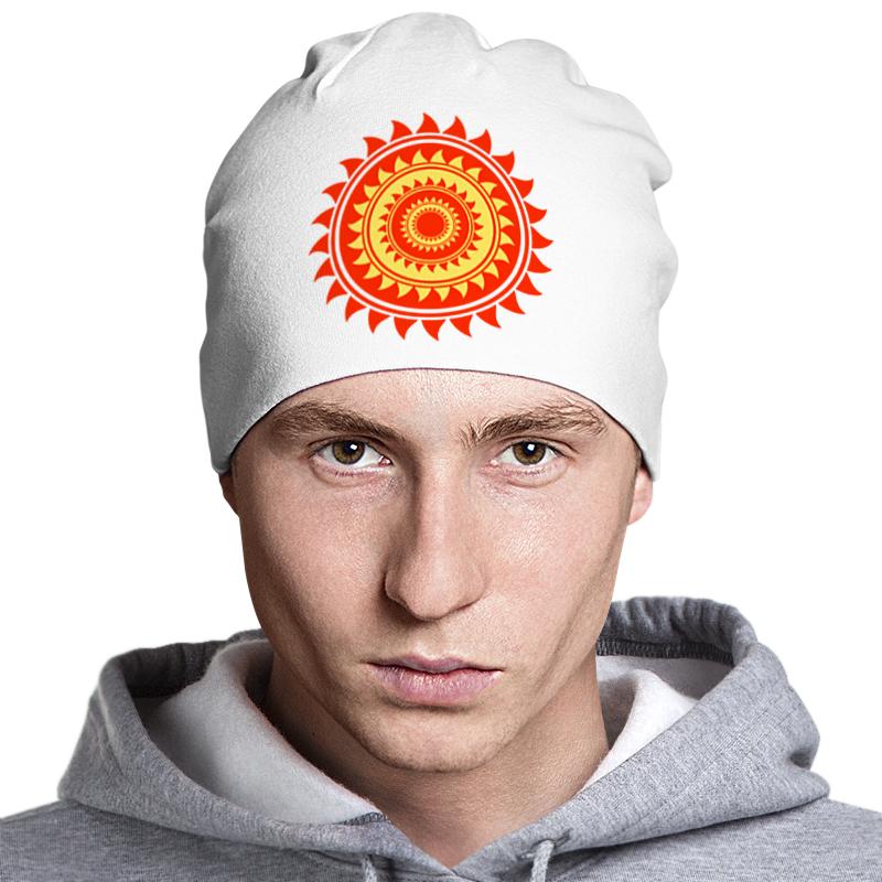 Шапка классическая унисекс Printio Солнце шапка классическая унисекс printio isymfs
