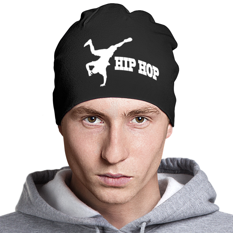 Шапка классическая унисекс Printio Hip-hop riding seasons half gloves shipping men han antiskid fitness outdoor hip hop wolf mountain