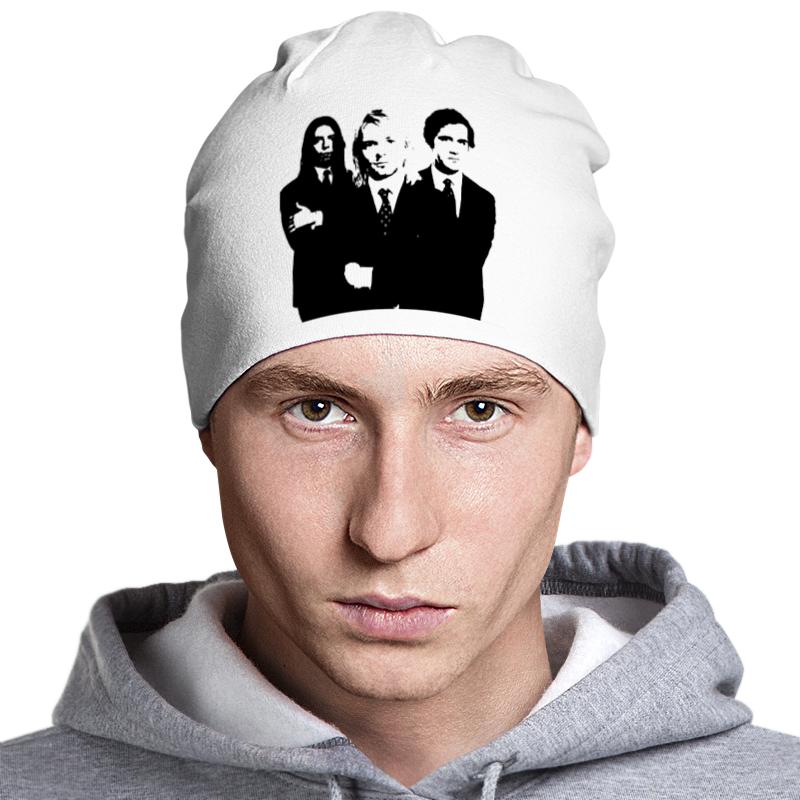 Шапка классическая унисекс Printio Nirvana аванта шапка avanta 990267 белый