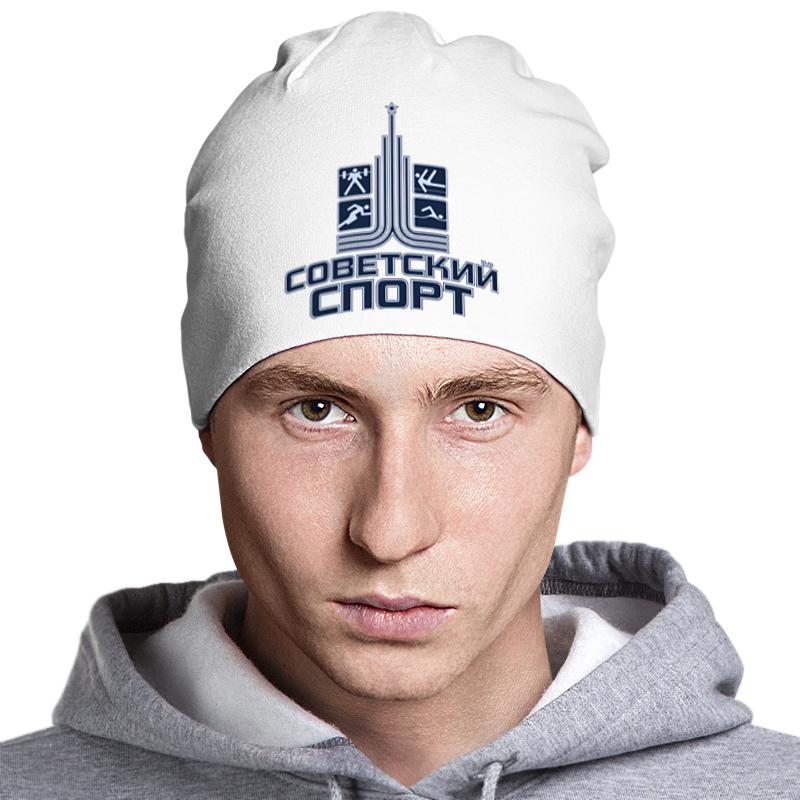 все цены на Шапка классическая унисекс Printio Советский спорт онлайн
