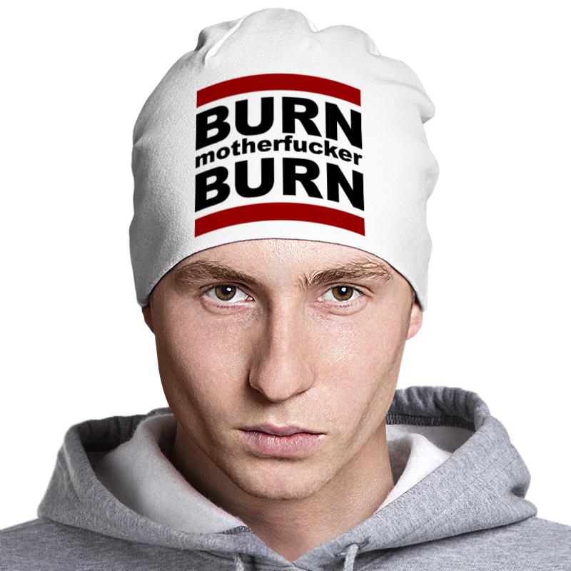 Шапка классическая унисекс Printio Burn! сумка printio burn