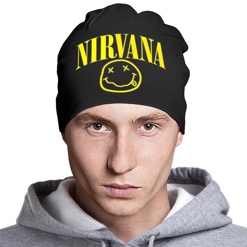 Шапка классическая унисекс Printio Nirvana шапка timberland шапки двойные
