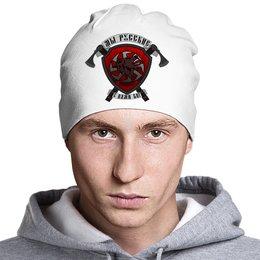 """Шапка """"Медведь"""" - россия, герб, коловрат, топор, щит"""