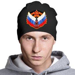 """Шапка """"Родина"""" - ссср, россия, серп и молот, кремль, триколор"""