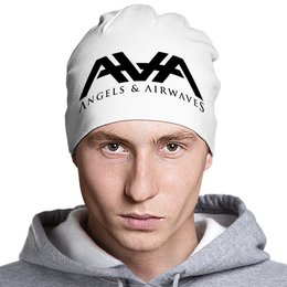 "Шапка ""AvA "" - ava, blink182, angels and airwaves, tomdelonge, tothestars"