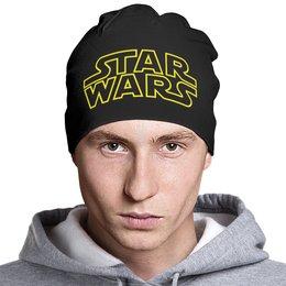 """Шапка классическая унисекс """"Star Wars"""" - фантастика, star wars, звездные войны, дарт вейдер"""