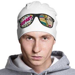 """Шапка классическая унисекс """"Поп-арт"""" - арт, дизайн, поп-арт, россия, шапка"""