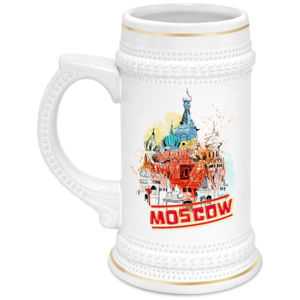 Кружка пивная Printio Москва cn 13 кружка москва собор василия блаженного 450 мл carmani