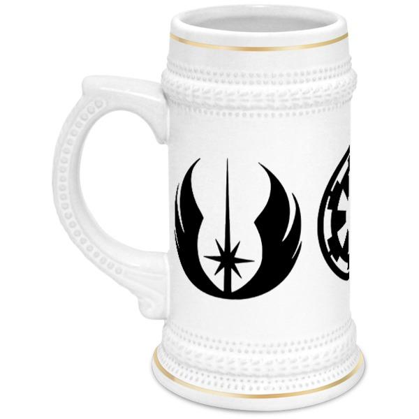 Кружка пивная Printio Звёздные войны цена