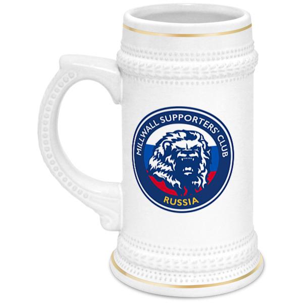 Printio Millwall msc beer cup цена и фото